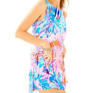 Lilly Pulitzer Donna romper off tropic watercolor